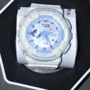 Casio Baby -G Watch In Blue & White Like New